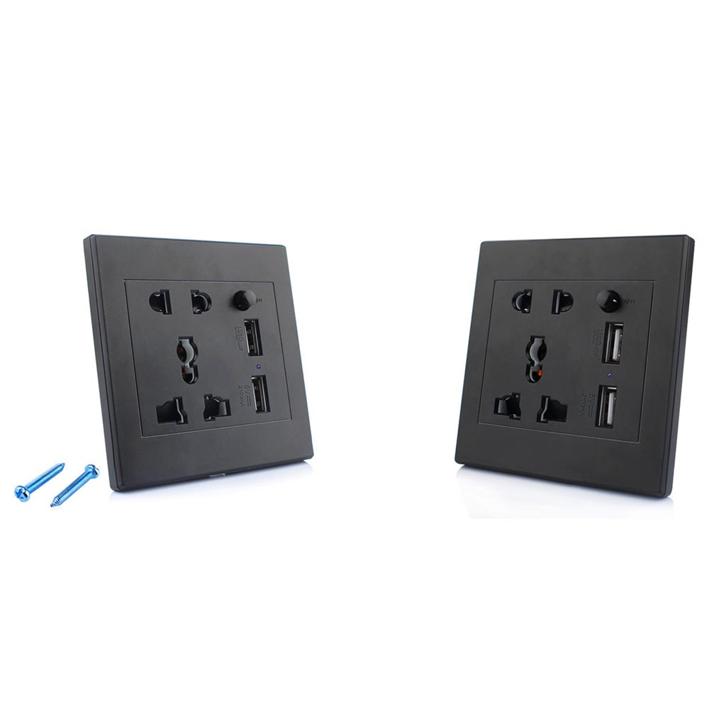 Wall Socket With Hidden Camera