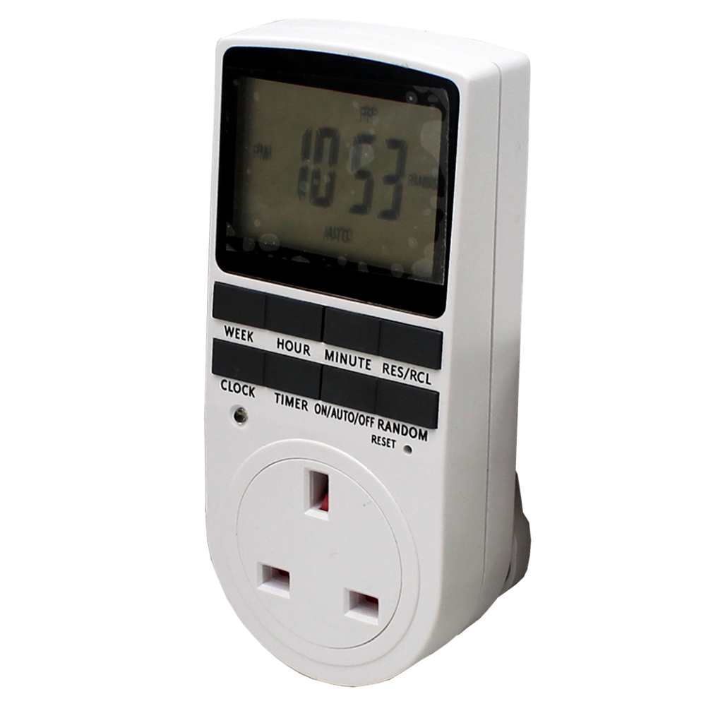 Digital 24/7 Programmable Socket