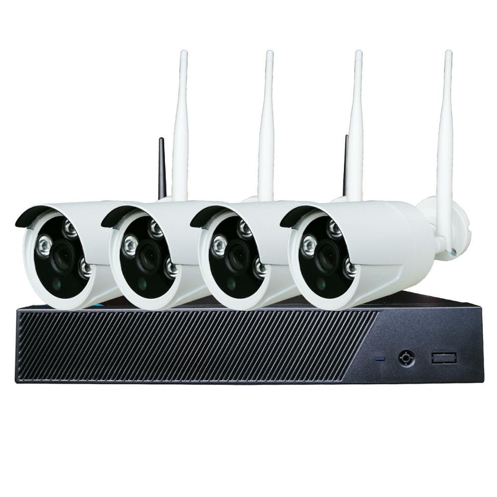 4-Channel Wireless CCTV Kit