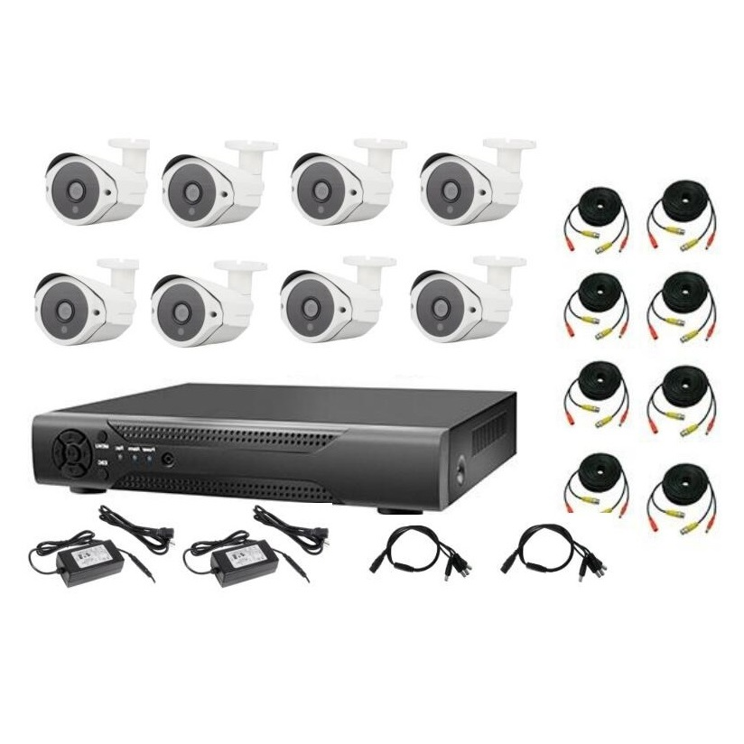 8-Channel Wired CCTV Kit