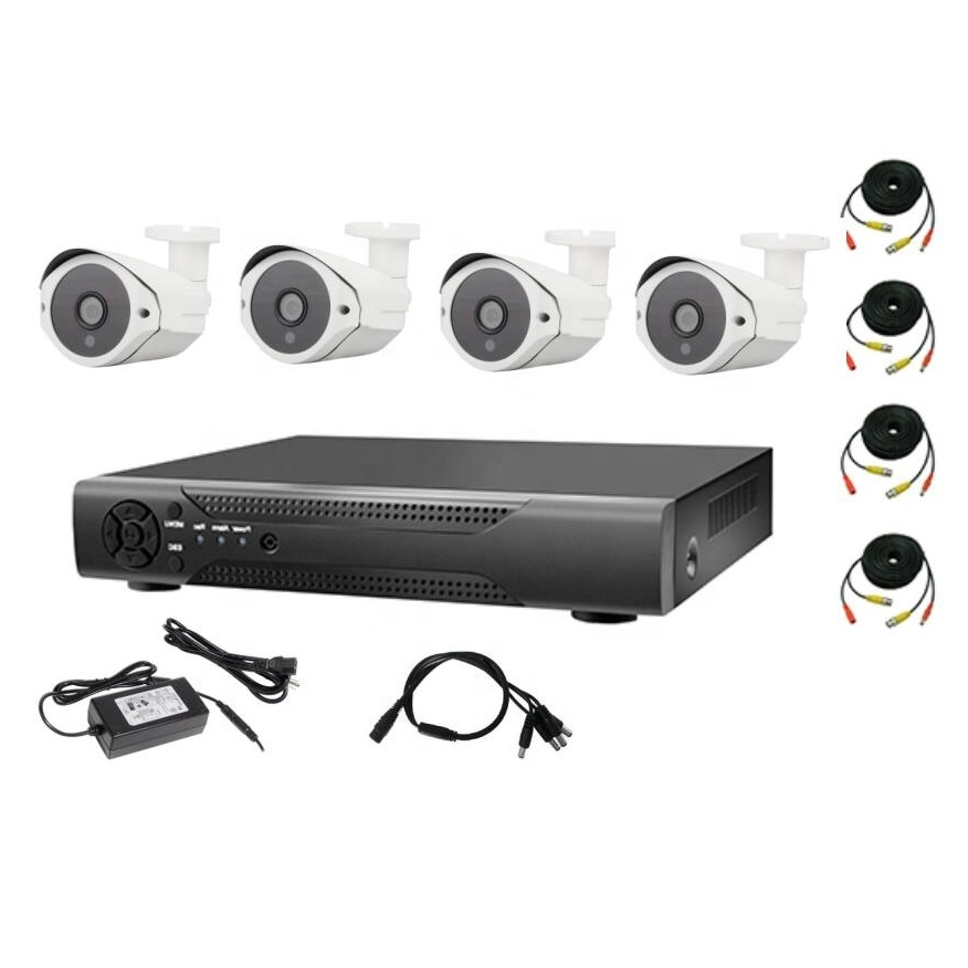 4-Channel Wired CCTV Kit