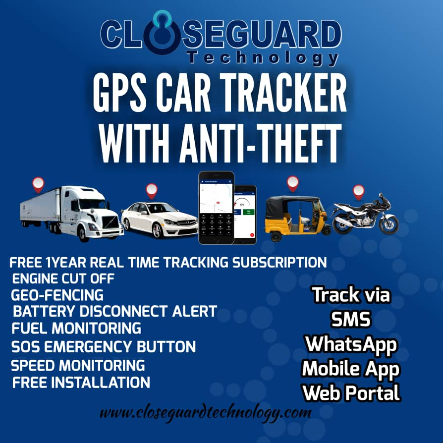 Real-Time GPS Car Tracking Package